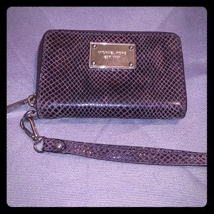 Gently used zippy wallet